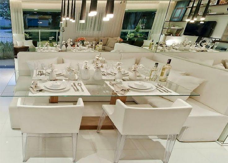 Conforto, funcionalidade, modernidade e sofisticação definem bem esse ambiente!