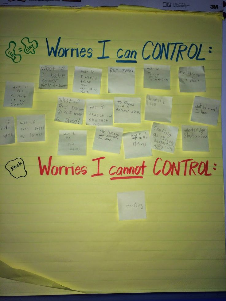 Ms. Sepp's Counselor Corner: Wilma Jean Worry Machine
