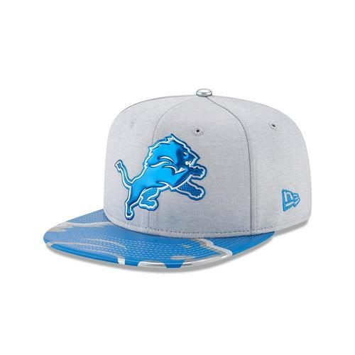 Detroit Lions Youth Hat New Era 2017 On Stage NFL Draft 9Fifty Kids Snapback Cap