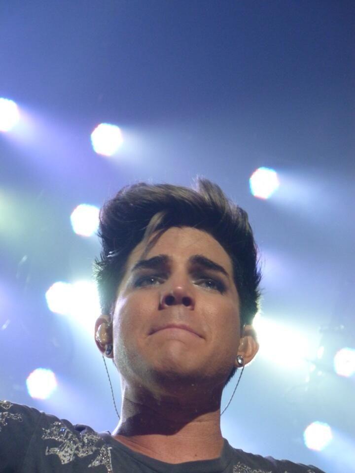 Adam Lambert: Overwhelmed by the response he got <3