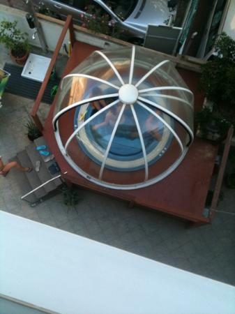 Hotel Cristallo: jacuzzi