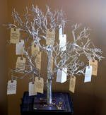 Gästebuch als Wunschbaum - lieber ein grünes Bäumchen