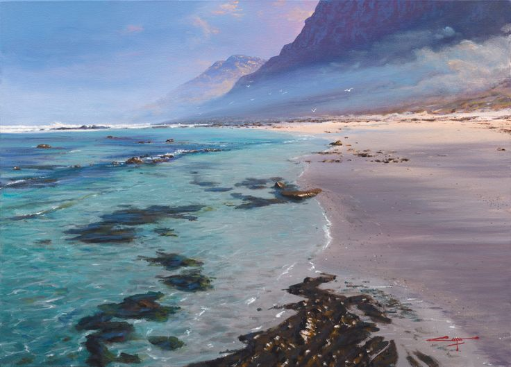 Scarborough Beach seascape by Andrew Cooper
