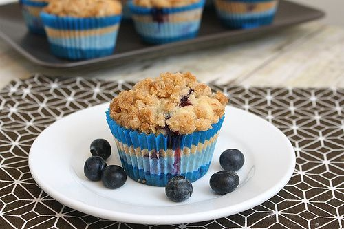 Blueberry Crumb Muffins by Tracey's Culinary Adventures (tried these ...