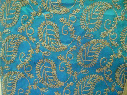Beautiful Pakistani embroidery...