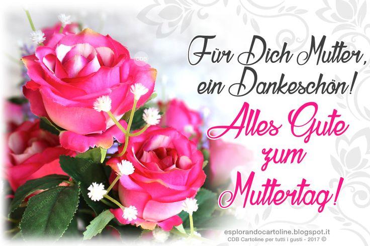 CDB CARTOLINE Compleanno per Tutti i Gusti! : ♡ Postkartengruß - Für Dich Mutter, ein Dankeschön...