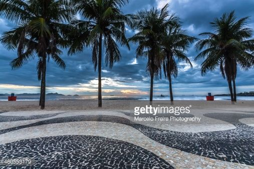 Known as 'Princess of the Sea', Copacaba is the most famous and one of the most beautiful beaches of Rio de Janeiro.