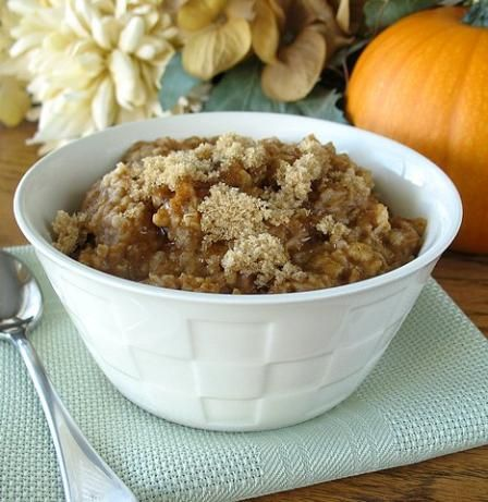 Thanksgiving brunch idea...Pies Oatmeal, Brunches Ideas, Yummy Recipe, Healthy Eating, Pumpkin Oatmeal, Pumpkin Spice, Oatmeal Recipe, Favorite Recipe, Pumpkin Pies