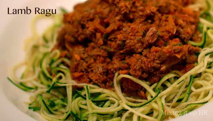 Mixing it up in HK: Slow cooking, stovetop cooking, thermomixing and Lamb ragu . . .