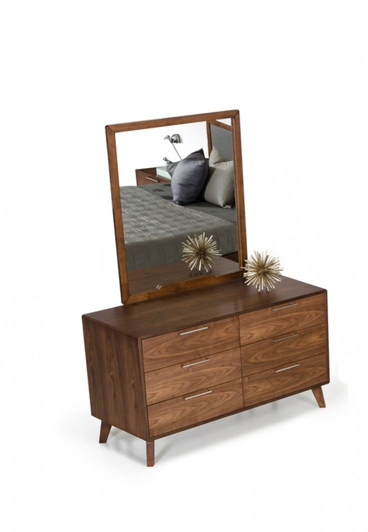 Nova Domus Soria Modern Walnut Dresser VGMABR-32-DRS
