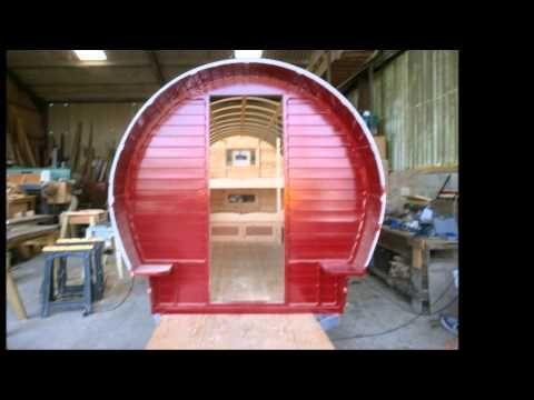 chris ward building a bowtop wagon - YouTube