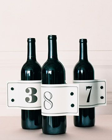 If you are a wine lover like me, these are such a cute idea Google Image: http://www.marthastewartweddings.com/sites/files/marthastewartweddings.com/ecl/images/content/pub/weddings/2009Q2/mwa104529_spr09_bottle_xl.jpg