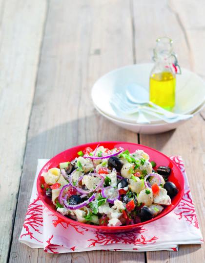Recept voor Griekse pasta salade