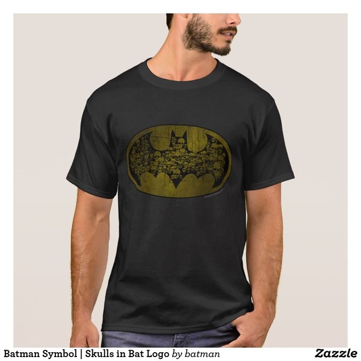 Camiseta de hombre logo Batman