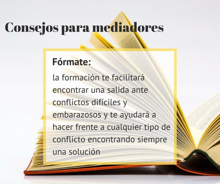 #Consejos para #mediadores: Encuentra una solución para cada #conflicto. http://www.cedeco.net/mediacion/