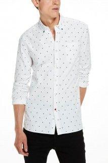 Scotch&Soda bílá pánská košile - 1838 Kč