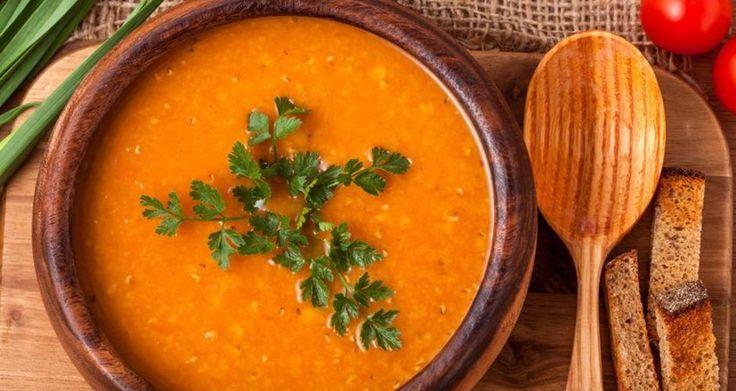 Σούπα μελιτζάνα