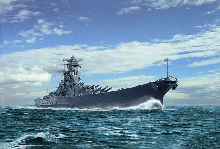 lex-for-lexington:  Battleship Yamato. (Source)