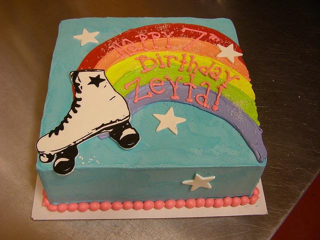 roller derby cake by denonmoore, via Flickr
