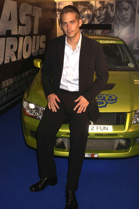 paul walker 2001 | Paul Walker race car shop Always Evolving to close - Photo 1 ...