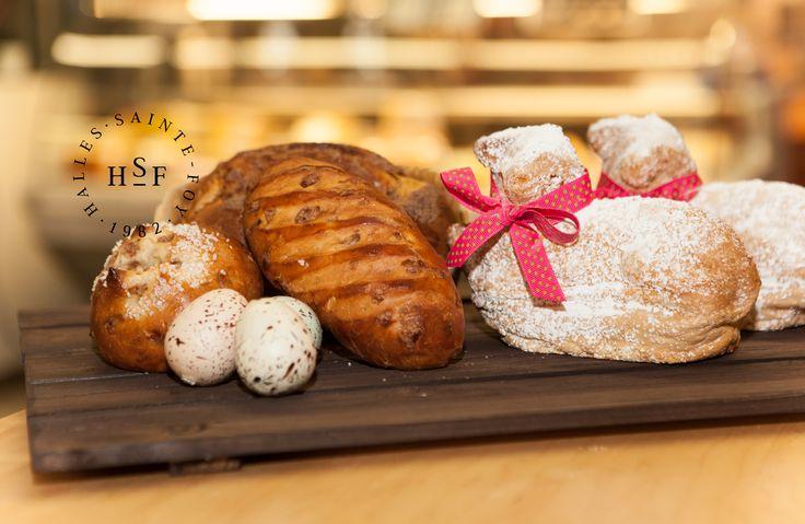 Les classiques de Pâques, faits par nos boulangers.