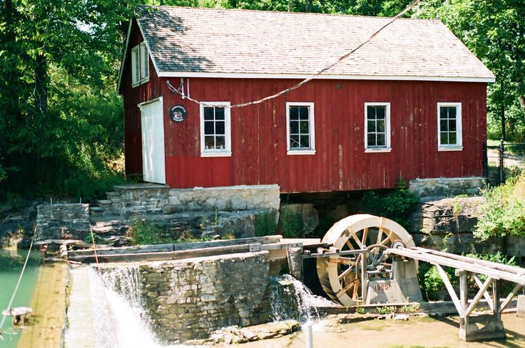 Mill in the summer.