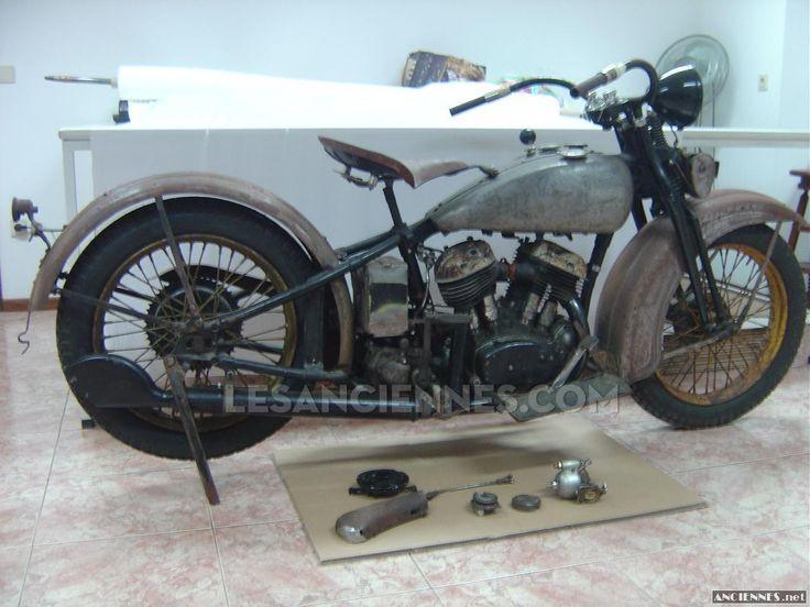 Ventes Moto - HARLEY DAVIDSON VL 1200 - 1932 - les annonces Les ANCIENNES com - ANCIENNES.NET