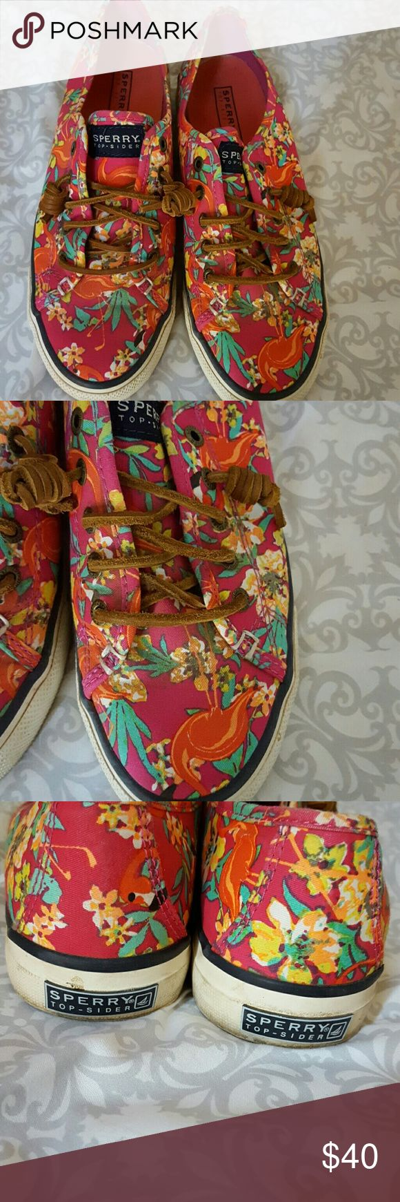 Sperry shoes sneakers Fun summer shoes sneakers like new Sperry Shoes