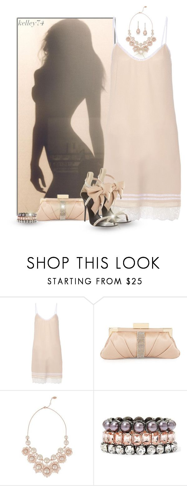 """Pink Shadow"" by kelley74 ❤ liked on Polyvore featuring Nina Ricci, Giuseppe Zanotti, Badgley Mischka, Vivienne Westwood and Nicole By Nicole Miller"
