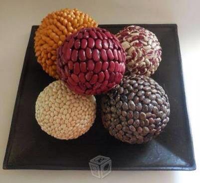 Esferas semillas