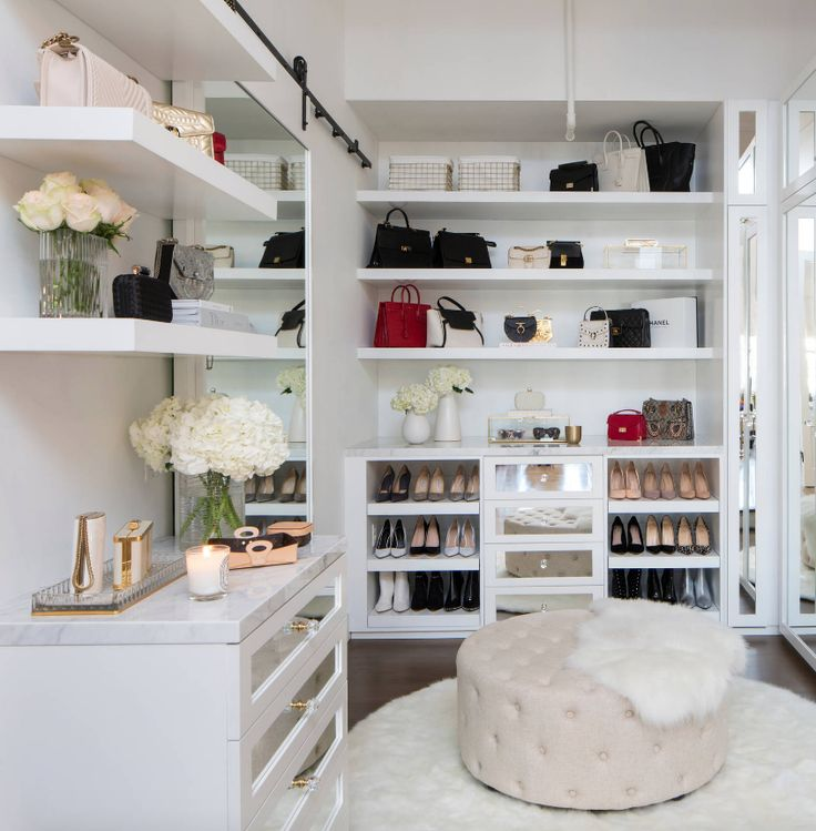 Walk In Closet Ideas – Do you need to whip your tiny walk-in closet into shape? …
