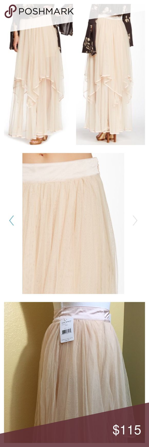 Free People Skirt BWT. Size 0. Perfect condition. Free People Skirts Maxi