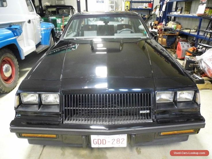 Buick: Grand National GRAND NATIONAL #buick #grandnational #forsale #canada
