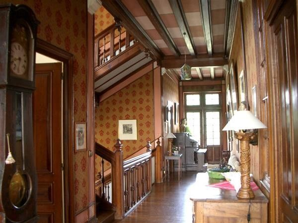 19th Century French Storybook Tudor House Interior