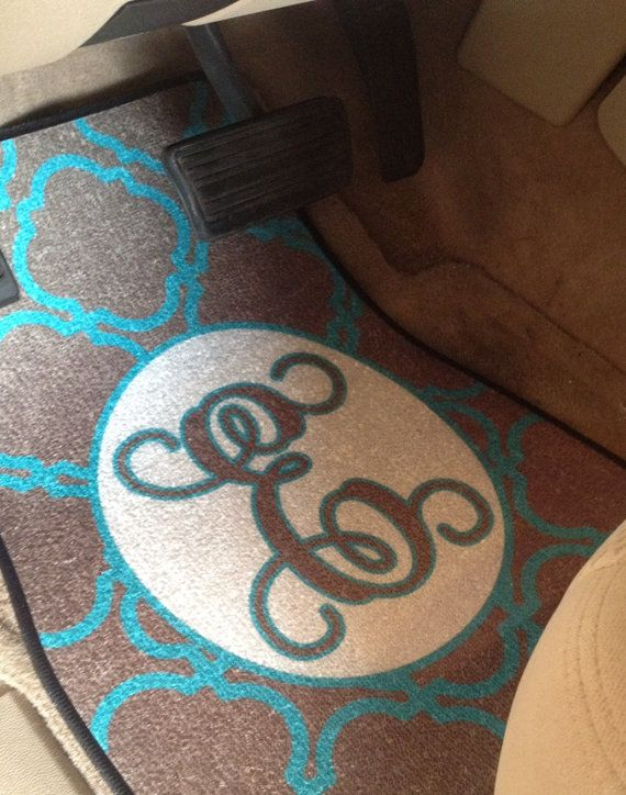 ON SALE: Personalized Car Floor Mats    Full Set