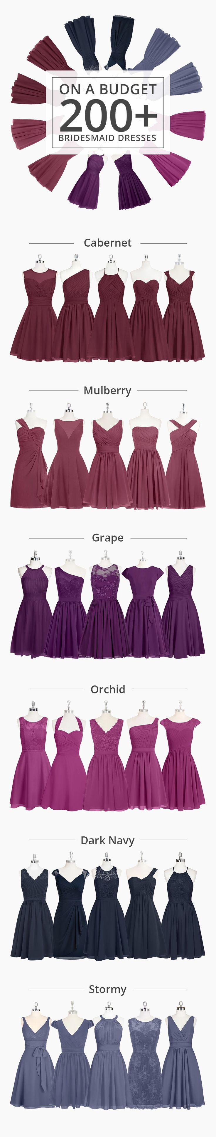 Check out our 200+ styles from long, elegant gowns, to fun and flirty dresses. Azazie focuses on making high-quality dresses with affordable prices. We believe that every woman should be able to wear something that they love and feel comfortable in.