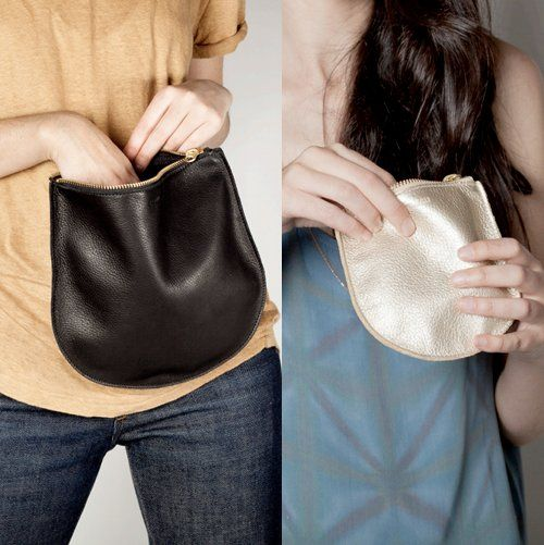Baggu leather goods. This little pouch is completely impractical for me as I would lose it somewhere, but it's enticing nonetheless!