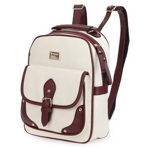 Color Block Zipper Backpack! Available in 4 color combination. Elegant and stylish! On sale!