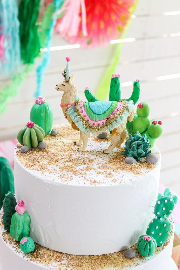 Custom order party llama cake topper birthday decor etsy