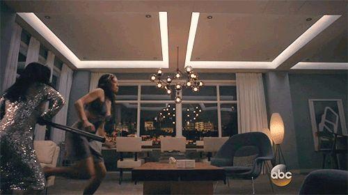 Agent Melinda May vs Agent 33 #Marvel Agents of S.H.I.E.L.D. #AoS #gif