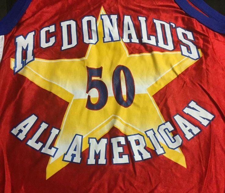 Corey Maggette McDonalds All-American Medium Jersey #McDonalds #OrlandoMagic