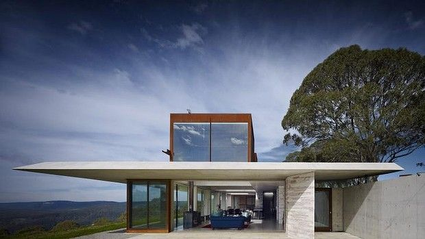 INVISIBLE HOUSE by Peter Stutchbury,
