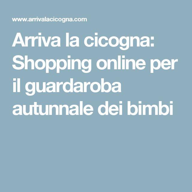 Arriva la cicogna: Shopping online per il guardaroba autunnale dei bimbi