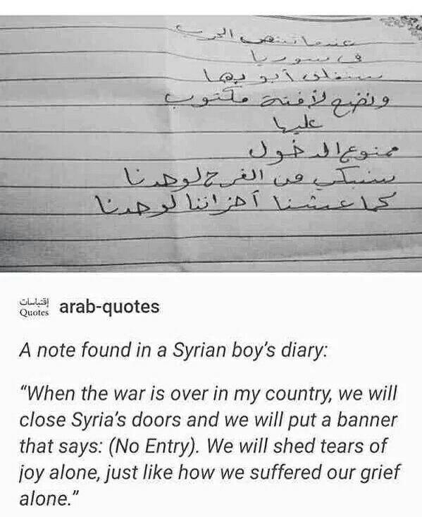 # Syria...