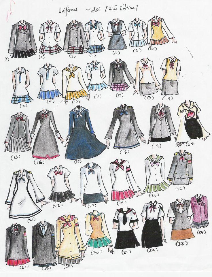 Vestidos japoneses de escuela :v