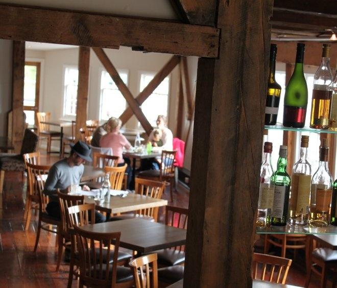 Stillwater Restaurant - the best (photo Nat Duncan)