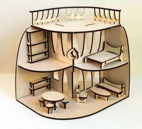кукольный домик чертеж - Поиск в Google