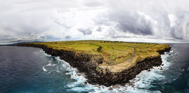 """South Point Big Island HI. USA. """"End of the world"""" [3660x1810] [OC] -Please check the website for more pics"""