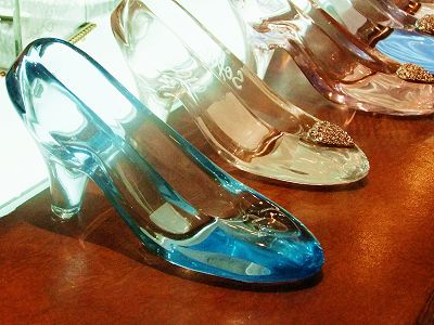 I want them just to say I have glass slippers