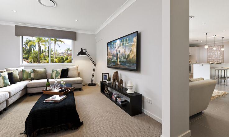Camelia #media #theatre #house #newhome #newlivinghomes  www.newlivinghomes.com.au
